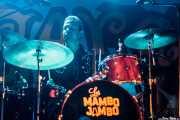 Anton Jarl, baterista de Los Mambo Jambo, Aste Nagusia - Algara Txosna. 2014