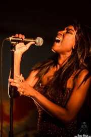 Koko-Jean Davis, cantante de The Excitements, Aste Nagusia - Algara Txosna, 2014