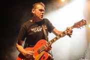 Carlos Beltrán, guitarrista de The Weapons (23/08/2014)