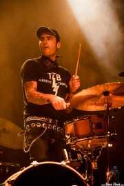 Javi Caballero, baterista de The Weapons (23/08/2014)