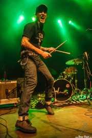 Javi Caballero, baterista de The Weapons (24/08/2014)
