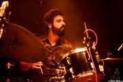 Carlos Jimena, baterista de Guadalupe Plata (24/08/2014)