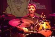 Alberto Chamorro, baterista de Los Brazos (05/09/2014)