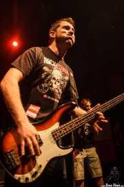 Txemi Gándara, bajista de Los Brazos (05/09/2014)