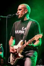 Mikel Renteria, cantante y guitarrista de The WOP Band (05/09/2014)
