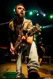 Gorka Bizar, guitarrista de Jare (05/09/2014)