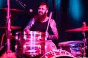 Pete Dio, baterista de Left Lane Cruiser (10/10/2014)