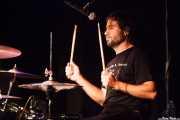 Josean Valle, baterista de Luis Vil y la Mala Crianza (11/10/2014)
