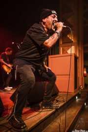 """Richard """"Handsome Dick"""" Manitoba, -cantante- y Daniel Rey -guitarrista- de The Dictators NYC (17/10/2014)"""
