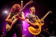 """Ross """"The Boss"""" Friedman y Daniel Rey -guitarristas- de The Dictators NYC (17/10/2014)"""
