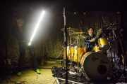Ruben Block -cantante y guitarrista- y Mario Goossens -baterista- de Triggerfinger (24/10/2014)