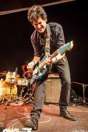 Álvaro Luna, cantante y guitarrista de Yellow Big Machine (25/10/2014)