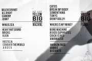 Setlist de Yellow Big Machine (25/10/2014)