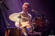 Matthew Correia, baterista de Allah-las, Kafe Antzokia. 2014