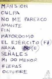 setlist de Carmen Boza, Kafe Antzokia. 2014