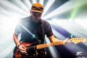 Ash Lamothe, guitarrista de We Were Lovers, Kafe Antzokia. 2014