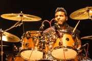 Hassan Hurd, baterista de The Coup, Kafe Antzokia. 2014