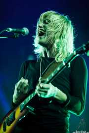 Christian Vium, cantante y guitarrista de Go Go Berlin, Bilbao Exhibition Centre (BEC). 2014