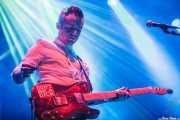 John Duignan, cantante y guitarrista de We Cut Corners, Bilbao Exhibition Centre (BEC). 2014