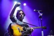 Brad Barr, cantante y guitarrista de The Barr Brothers, Bilbao Exhibition Centre (BEC). 2014