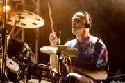 "Nathan Curran ""Tuggy"", baterista de Basement Jaxx, Bilbao Exhibition Centre (BEC). 2014"
