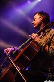 Chris Worsey, teclista y cellista de The Divine Comedy (Bilbao Exhibition Centre (BEC), Barakaldo, 2014)