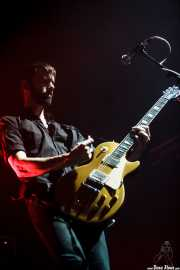 Stefan Olsdal, bajista y guitarrista de Placebo, Bilbao Exhibition Centre (BEC). 2014