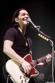 Brian Molko, cantante y guitarrista de Placebo, Bilbao Exhibition Centre (BEC). 2014