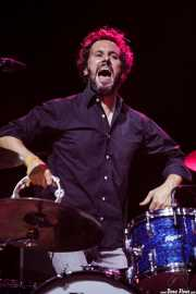 Javi Gonzalez, baterista de Smile, Bilbao Exhibition Centre (BEC). 2014