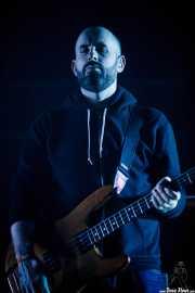 Dominic Aitchison, bajista de Mogwai, Bilbao Exhibition Centre (BEC). 2014