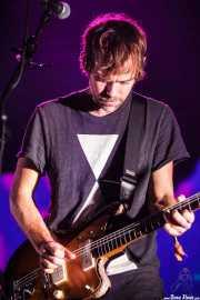 Aaron Dessner, guitarrista de The National, Bilbao Exhibition Centre (BEC). 2014