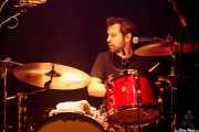 Joe Meyer, baterista de Nikki Hill, Kafe Antzokia. 2014
