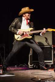 Dave Alvin, guitarrista y cantante de Dave Alvin & Phil Alvin with The Guilty Ones, Ficoba. 2014