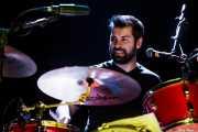 Joe Meyer, baterista de Nikki Hill, Ficoba. 2014