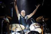 Justin Lack, baterista de Graham Bonnet, Sala Stage Live (Back&Stage). 2014