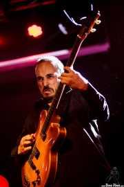 Alfonso Ferrer, bajista de Aurora & The Betrayers, Sala Stage Live (Back&Stage). 2014