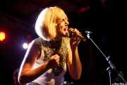 Aurora García, cantante de Aurora & The Betrayers, Sala Stage Live (Back&Stage). 2014