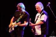 Jim Maving y Mick Ralphs -guitarristas- de Mick Ralphs Blues Band, Sala BBK. 2014