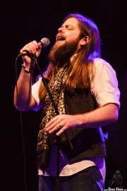 Adam Barron, cantante de Mick Ralphs Blues Band, Sala BBK. 2014