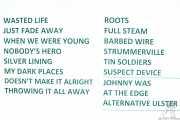 Setlist de Stiff Little Fingers, Kafe Antzokia. 2014