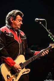 Jake Burns, cantante y guitarrista de Stiff Little Fingers, Kafe Antzokia. 2014