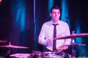 Josselin Soutrenon, baterista de The Buttshakers, Kafe Antzokia. 2014