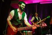 Sylvain Lorens -guitarrista- y Vincent Girard -bajista- de The Buttshakers, Kafe Antzokia. 2014