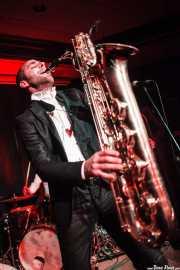 Fred Gardette, saxofonista de The Buttshakers, Kafe Antzokia. 2014