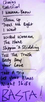 Setlist de The Buttshakers, Kafe Antzokia. 2014