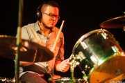 Esteban Gaviria, baterista de Educados, Sala Cúpula (Teatro Campos Elíseos). 2014