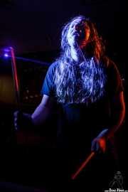 Peter De Bosschere, baterista de The Drip Dry Man & The Beat Revolver, Satélite T. 2014
