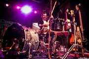 Raúl Frutos, cantante, guitarrista y percusionista de Crudo Pimento, Purple Weekend Festival. 2014