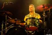 Anton Jarl, baterista de Los Mambo Jambo, Purple Weekend Festival. 2014
