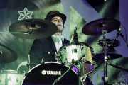 Winston McCloud, baterista de The Mergers, Purple Weekend Festival. 2014